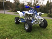 Banshee 350 bleu/blanc