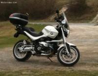 BMW R1200R 2009 blanche