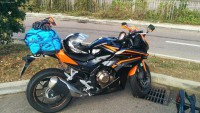 CBR500R 2016 Noir et Orange