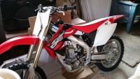 CRF450 2007