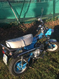 Dax Honda 50cc bleu volé