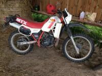 Honda 125 MTX de 1984