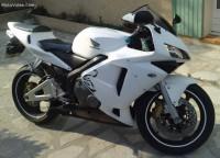 Honda CBR600RR 2003 blanche