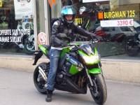 Kawasaki Z1000 ABS vert k12