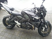 Suzuki B King noir volé ce matin