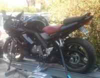 SV 650 S noire selle rouge