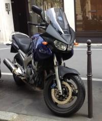 Yamaha TDM 900 Bleue