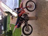 moto cross ktm 85 sx