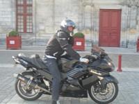Voler mon Kawasaki 1400 zzr