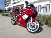 Vole Yamaha R6 2002 Rouge Rubis