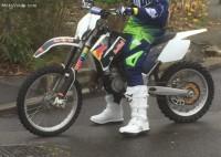 vol motocross KTM SX-GR 85cc année 2007