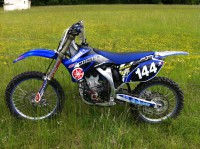 Vol motocross Yamaha 250 YZF 2009