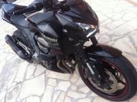 Vol de ma Kawasaki Z800 noir / rouge