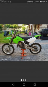 Kawasaki 125kx 2006