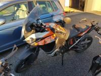 KTM Adventure orange