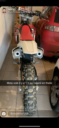 Moto volée