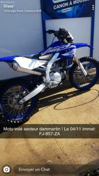 moto yamaha 450 yzf