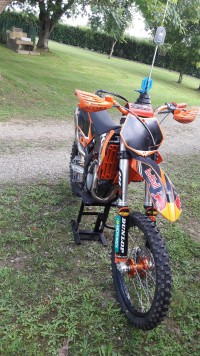 vol cross ktm 250 sxf 2010