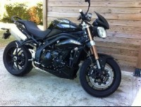 Vol de moto Triump Speed Triple 1050