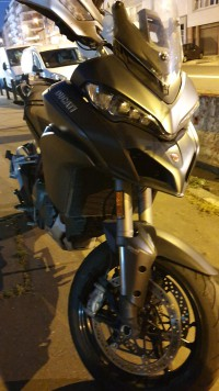 Vol Ducati Multistrada 1200S touring 2017