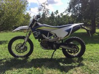 Vol Husqvarna 701 enduro