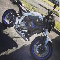 Vol moto Yamaha mt 07 le 03/01/2019