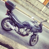 MOTO RETROUVEE - Vol Yamaha Diversion 600