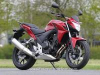 Volée à TOULOUSE : moto HONDA CBF 500 ROUGE