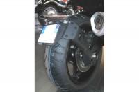 Yamaha FZ8 Blanche